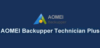 AOMEI Backupper Technician Plus создание резервных копий