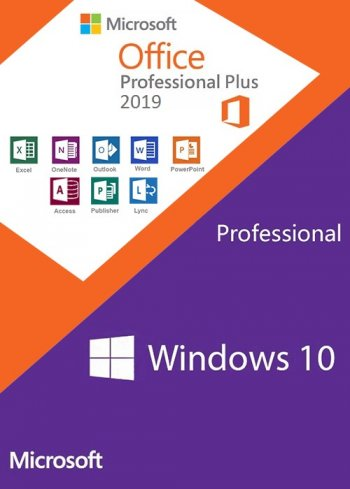 Windows 10 Pro + Office 2019 с активатором